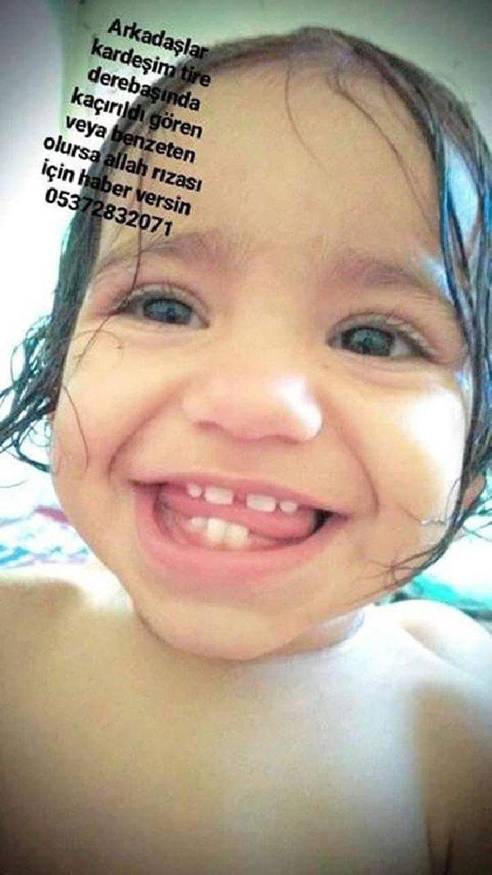 İzmir'de kaybolan 1,5 yaşındaki Rüya Çelik ve anneannesi bulundu!