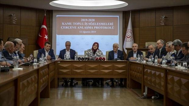 Hükümet ve Türk-İş görüşmesinde zam oranı belli oldu