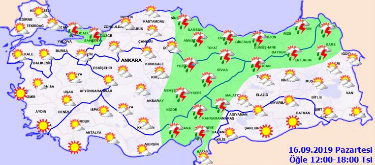 İstanbullular dikkat! Bugün sağanak yağış geliyor!