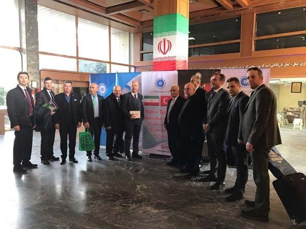 DÖSİAD üyeleri Tahran'da