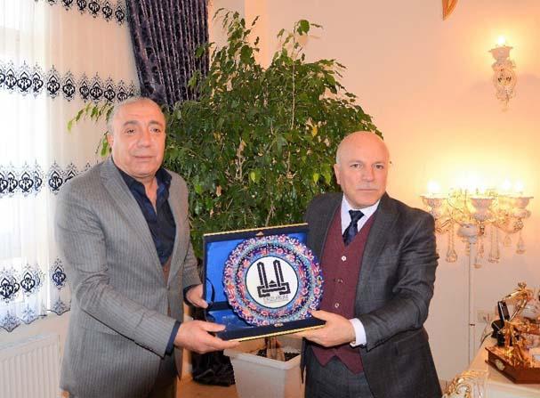 Başkan Sekmen'den Başkan Kılıç'a ziyaret