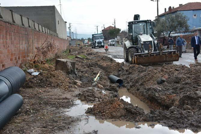 Hürriyet Mahallesi'nin yağmur suyu sorunu çözüldü