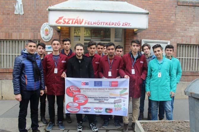Teknik Lise öğrencileri Avrupa'da staj görecek