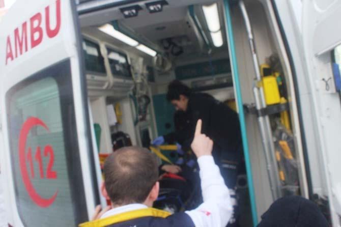 Ağrı'da trafik kazası: 1 yaralı
