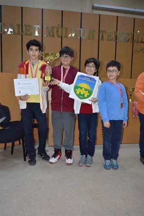 Başak Koleji satrançta il şampiyonu oldu