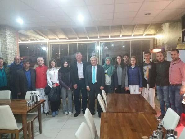 Başkan Duymuş, başarılı sporcuları ile buluştu