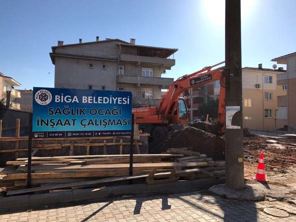 Biga Belediyesi'nden sağlık alanında yatırım