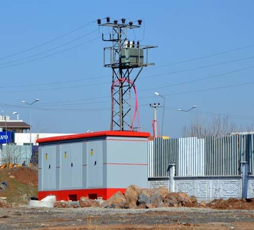 Dicle Elektrik 30 yıllık şebekeyi yeniledi