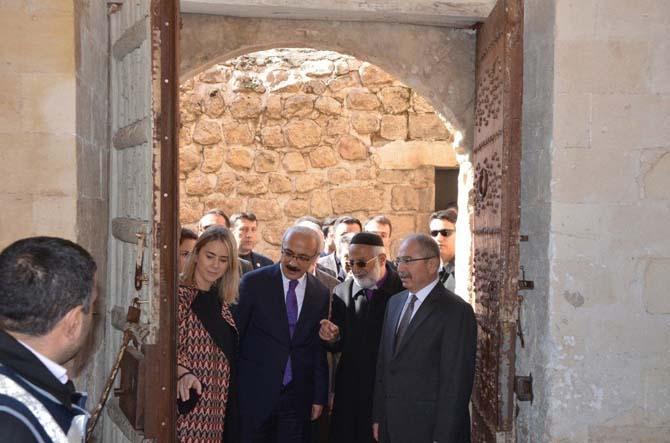 Kalkınma Bakanı Elvan'ın Mardin ziyareti
