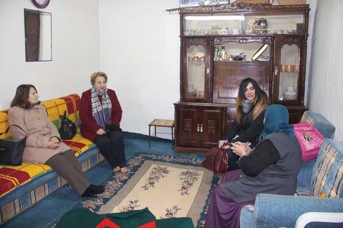 """Kars Belediyesi'nin """"Sıcak Yuva Tok Karın"""" projemiz devam ediyor"""