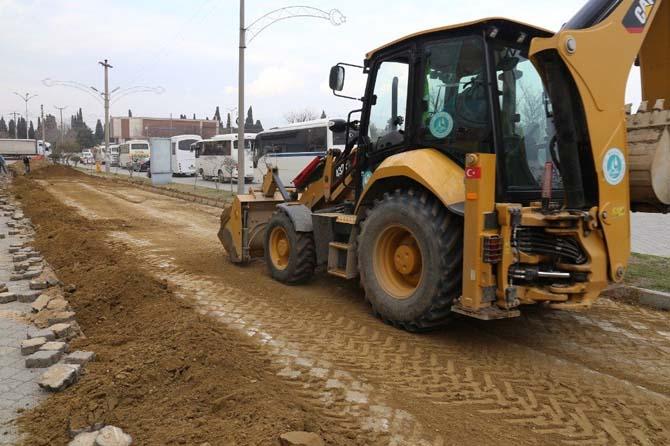 Prestij caddesi için altyapı hazırlanıyor