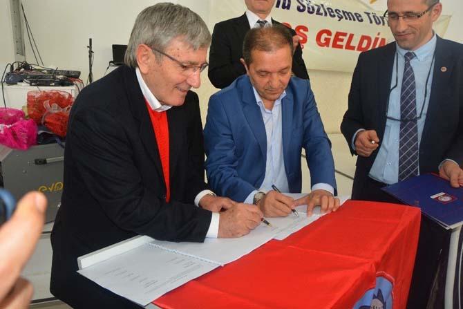 Sinop'ta toplu iş sözleşmesi imzalandı