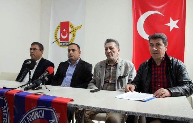 Mersin İdman Yurdu başkan adayları yönetime tepki gösterdi