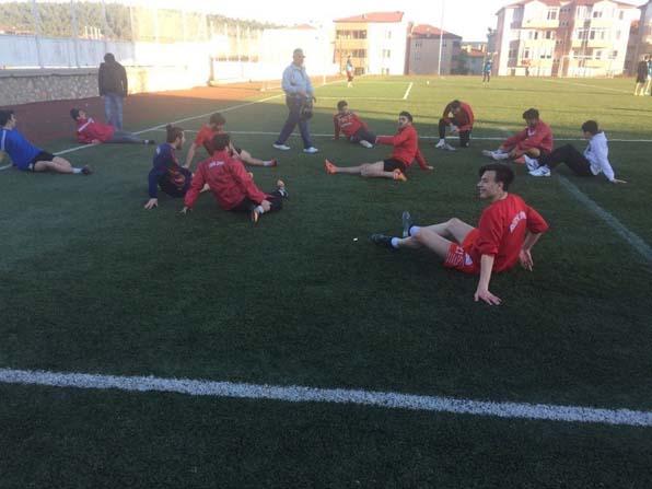 Bilecikspor, zorlu Vezirhanspor maçının hazırlıklarını tamamladı