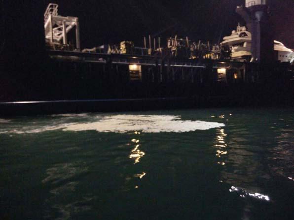 Fethiye'de denizi kirleten gemiye 60 bin lira ceza