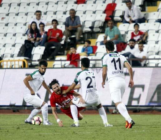 Antalyaspor, Akhisar Belediyespor ile 8. randevuda