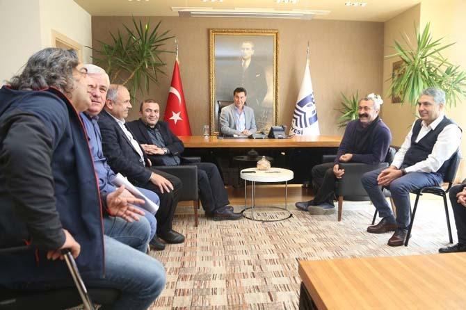 Ovacık Belediye Başkanı Maçoğlu'ndan Başkan Kocadon'a ziyaret