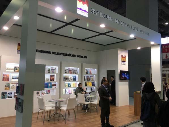 Zeytinburnu Belediyesi Kültür Yayınları 4'üncü Uluslararası CNR Kitap Fuarı'nda
