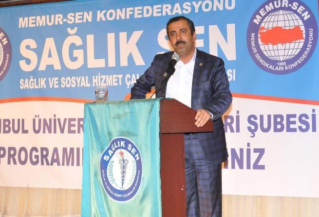 """Sağlık-Sen Genel Başkanı Metin Memiş: """"Üniversite hastanelerinde personel istihdamı noktasında sıkıntılar var"""""""