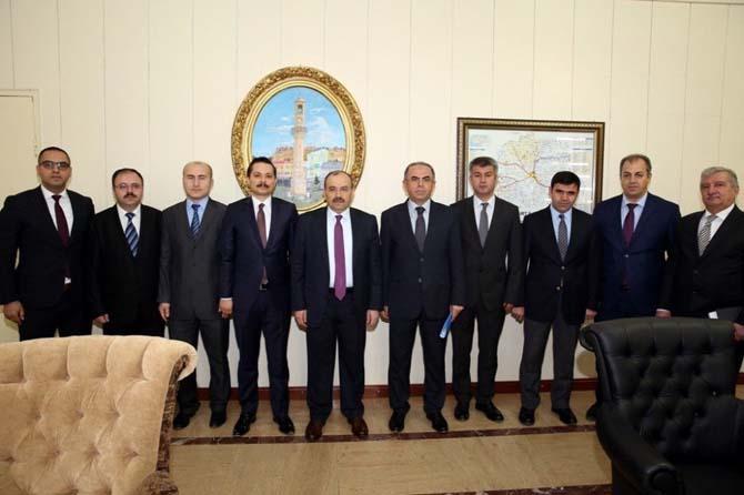 AFAD il Müdürü ve Defterdar'dan Vali Ustaoğlu'na ziyaret