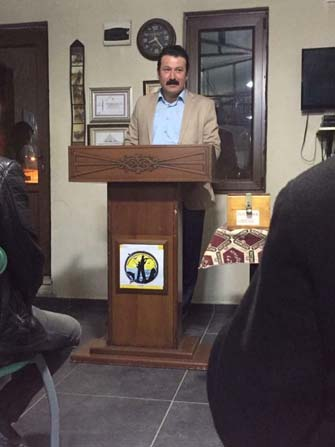 Osmaneli Avcılar, Atıcılar ve Spor Kulübü Başkanı Öktem üçüncü kez güven tazeledi
