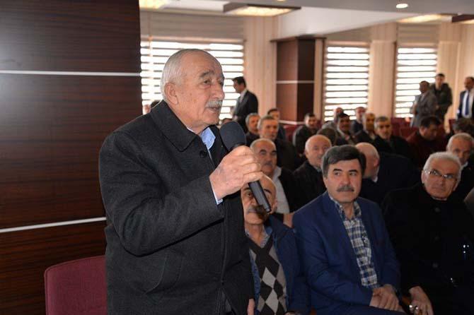 """Bolu Valisi Aydın Baruş: """"Muhtarlar halkın iradesini en ücra köşede yansıtan birimler"""""""