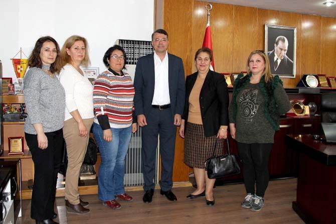 Kadın Meclisi, Başkan Turgut'u ziyaret etti