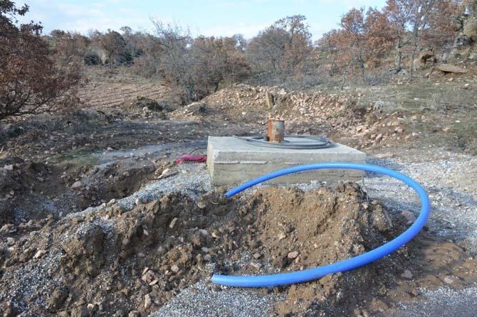 Kavakyeri yeni içme suyu hattına kavuşuyor