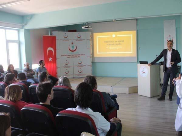 Tıbbi Müdahalelerin Hukuka Uygunluğu ve Sağlık Hukuku semineri