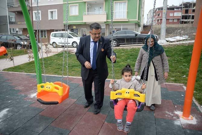 Gökyüzü Parkı çocukların hizmetinde