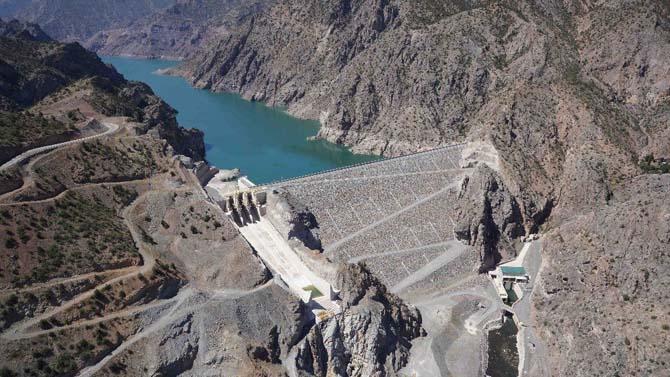 Çoruh'un altın bileziği Erzurum'un yarısından fazlasının elektrik ihtiyacını karşılıyor