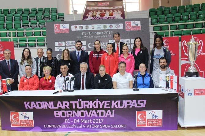 PTT Kadınlar Türkiye Kupası'nda heyecan başlıyor