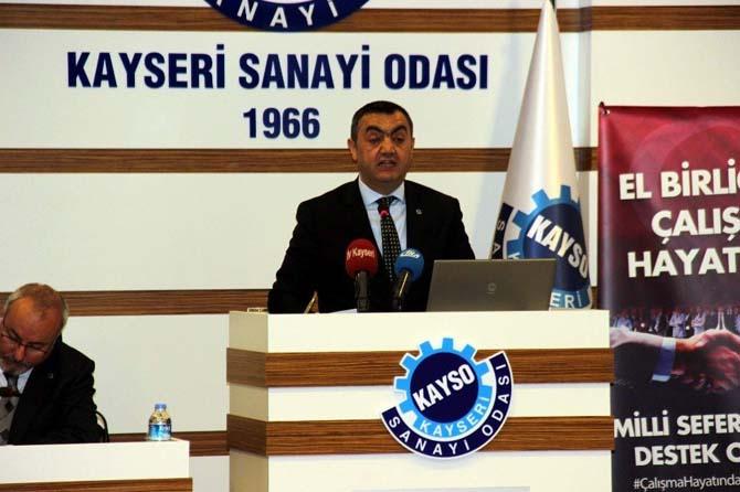 KAYSO Yönetim Kurulu Başkanı Mehmet Büyüksimitçi: