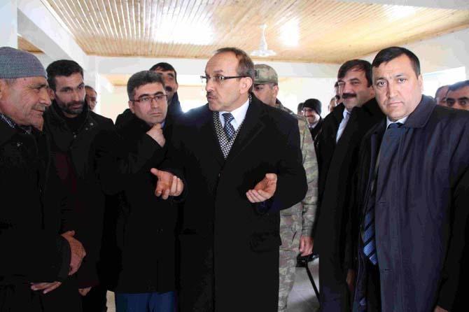 Muş valisi Yavuz'dan köylere ziyaret