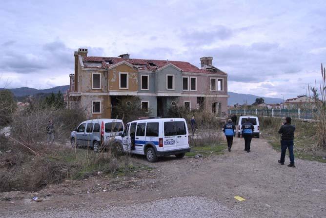 Fethiye polisinden 'Hayalet Siteye' operasyon