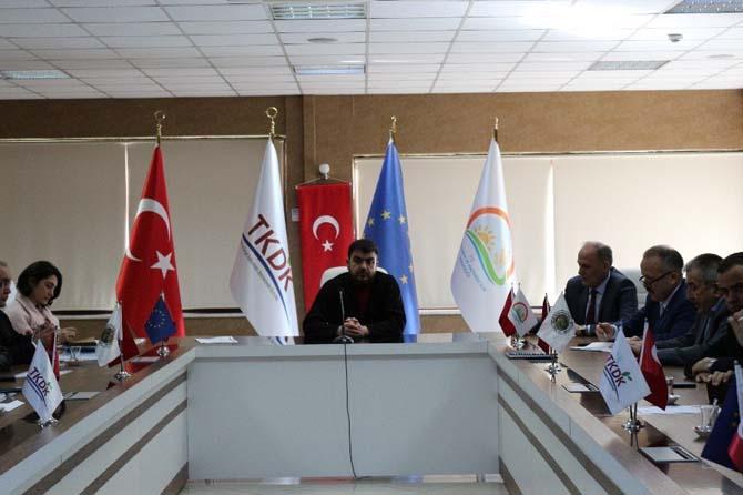 TKDK, Giresun İl Gıda Tarım ve Hayvancılık İl Müdürlüğü ile toplantı gerçekleştirdi