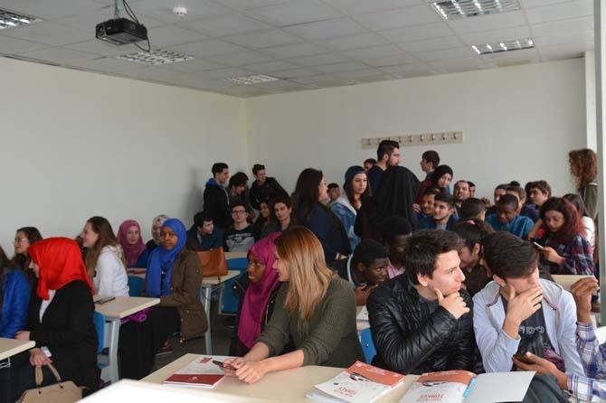 Lise öğrencilerin kültür paylaşımı ziyareti
