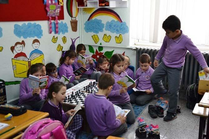 Biga'da neşeli sınıflar oluşturuldu