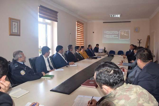 Gemerek'te Halk Eğitimi Planlama ve İşbirliği Komisyonu toplantısı yapıldı