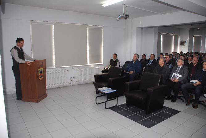 Jandarma emniyet ve asayişte etkinliği arttırmak için toplantıda