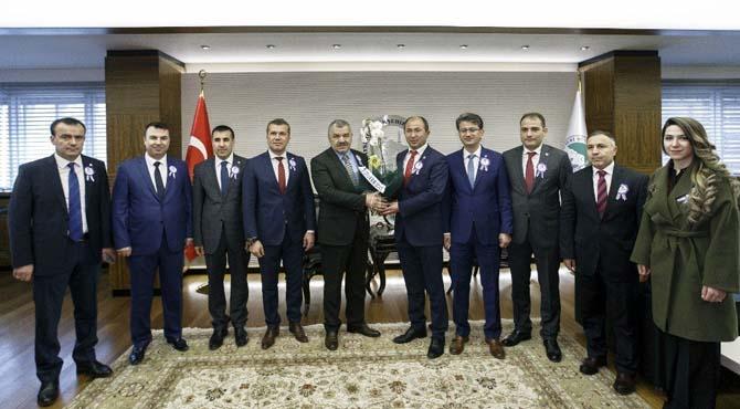 Başkan Çelik, Muhasebeciler Haftasını Kutladı