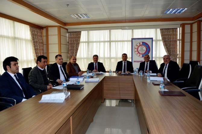 1. OSB Yönetim Kurulu Toplantısı yapıldı