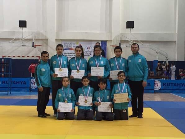 Salihli Belediyespor judo takımı finalde