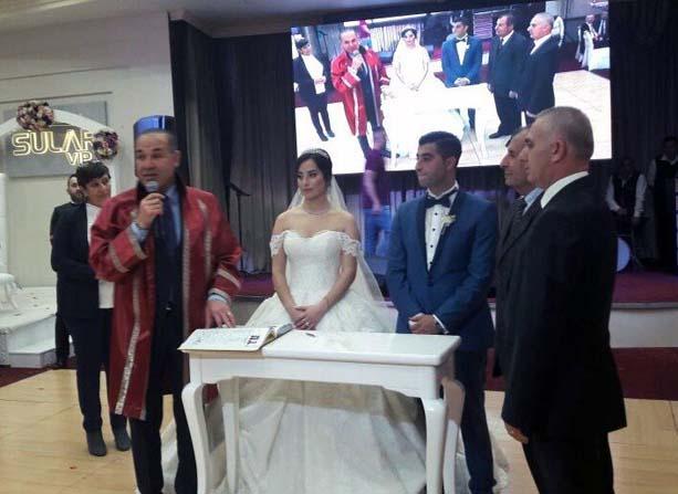 Başkan Sözlü, adaşının nikahını kıydı
