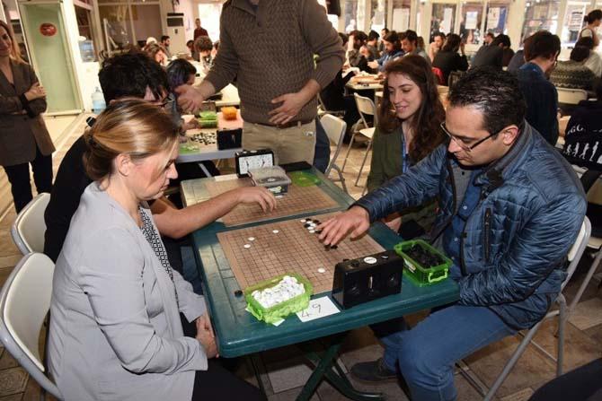 Bornova'da Go Turnuvası heyecanı