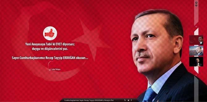 Yalnızım diyen Cumhurbaşkanı Erdoğan için web sitesi kurdular