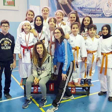 Mudanyalı öğrenciler karatede Bursa'yı temsil edecek
