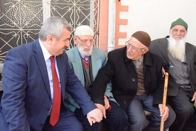 Başkan Baran, esnaf ve vatandaşlarla buluştu