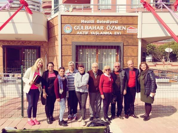 Aktif Yaşlanma Evi Antakya'ya örnek olacak