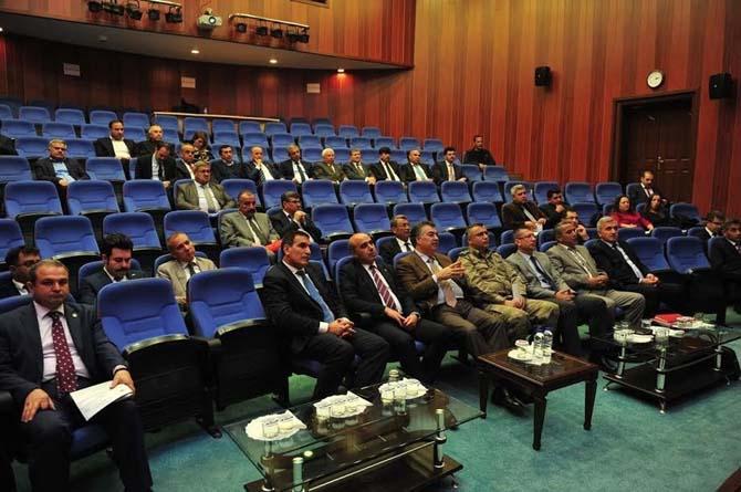 Osmaniye su yönetimi koordinasyon kurulu toplantısı yapıldı